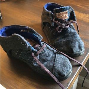 Toms - kids lace up boys